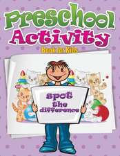 Preschool Activity Book for Kids (Spot the Difference)
