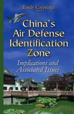 Chinas Air Defense Identification Zone