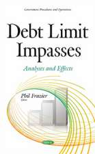 Debt Limit Impasses: Analyses & Effects
