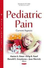 Pediatric Pain: Current Aspects