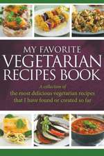 My Favorite Vegetarian Recipes Book