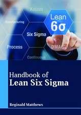Handbook of Lean Six SIGMA