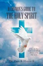 A Layman's Guide to the Holy Spirit