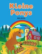 Kleine Ponys Malbuch