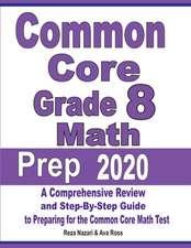 Common Core Grade 8 Math Prep 2020