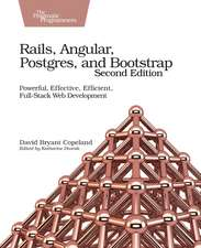 Rails, Angular, Postgres and Bootstrap, 2e