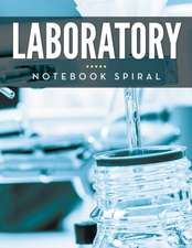 Laboratory Notebook Spiral