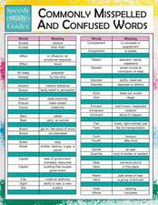 Commonly Misspelled and Confused Words (Speedy Study Guides):  Math 9th Grade (Speedy Study Guides)
