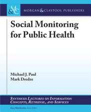 Social Monitoring for Public Health