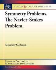 Symmetry Problems. the Navier-Stokes Problem.