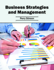 Business Strategies and Management