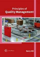 Principles of Quality Management