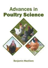 Advances in Poultry Science
