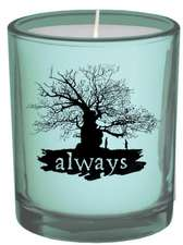 Harry Potter Always Glass Votive Candle