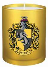 Insight Editions: Harry Potter: Hufflepuff Glass Votive Cand