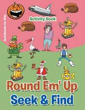 Round 'em Up Seek and Find Activity Book