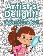Artist's Delight! Hidden Picture Book