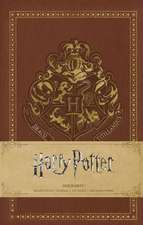 HARRY POTTER: HOGWARTS HARDCOVER RULED NOTEBOOK
