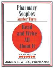 Pharmacy Soapbox Number Three