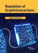 Regulation of Cryptotransactions