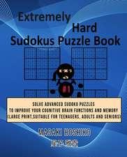 Extremely Hard Sudokus Puzzle Book #1