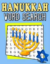 Hanukkah Word Search: My First Word Search Book - Word Search for Kids Ages 6-8 Years Jewish Winter Activity Books for Kids