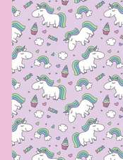 Cute Unicorn Sketchbook: 110+ Pages of Drawing Paper (8.5x11)