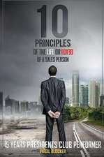 10 Principles of the Life or Death of a Salesperson