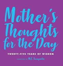 Mother's Thoughts for the Day