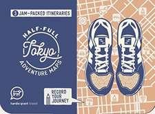 HALF FULL ADVENTURE MAP TOKYO