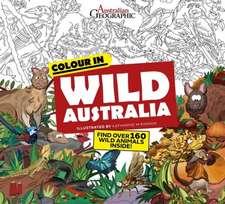 Wild Australia: Colouring Book