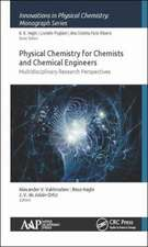 Physical Chemistry for Chemists and Chemical Engineers