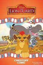 Disney The Lion Guard: The Traveling Baboon Show Cinestory Comic