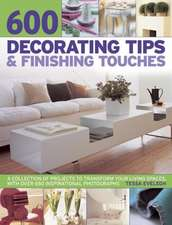 600 Decorating Tips & Finishing Touches