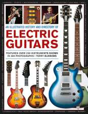 An Illustrated History & Directory of Electric Guitars:  Features Over 250 Instruments Shown in 360 Photographs
