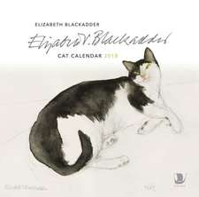 Elizabeth Blackadder Cat Calendar 2018