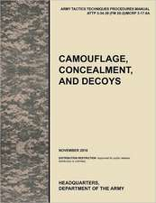 Camouflage, Concealment and Decoys