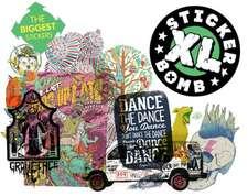 Stickerbomb XL:  The World of 1980s Fashion Illustrator Tony Viramontes