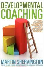 Developmental Coaching