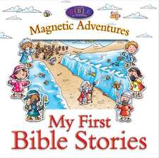 My First Bible Stories--Magnetic Adventures:  With Pop-Up Play Scenes