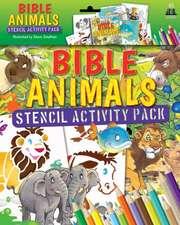 Bible Animals Stencil Activity Pack