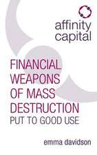 Affinity Capital - Financial Weapons of Mass Destruction Put To Good Use