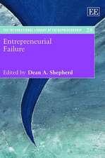 Entrepreneurial Failure
