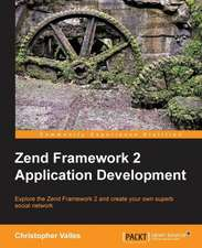 Zend Framework 2 Web Application Development