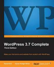 Wordpress 3.7 Complete:  Third Edition
