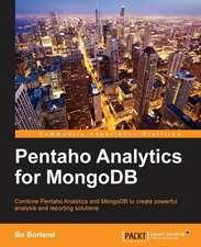 Pentaho Analytics for Mongodb:  Distributed Real-Time Computation Blueprints