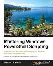 Mastering Powershell