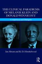 Clinical Paradigms of Melanie Klein and Donald Winnicott