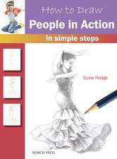 How to Draw People in Action: In simple steps