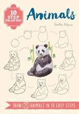 10 Step Drawing: Animals